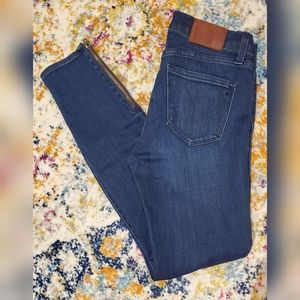 Madewell Size 26 Ankle Zip Skinny Jeans